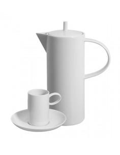VISTA ALEGRE DOMO WHITE JUEGO DE CAFE 12 SERVICIOS