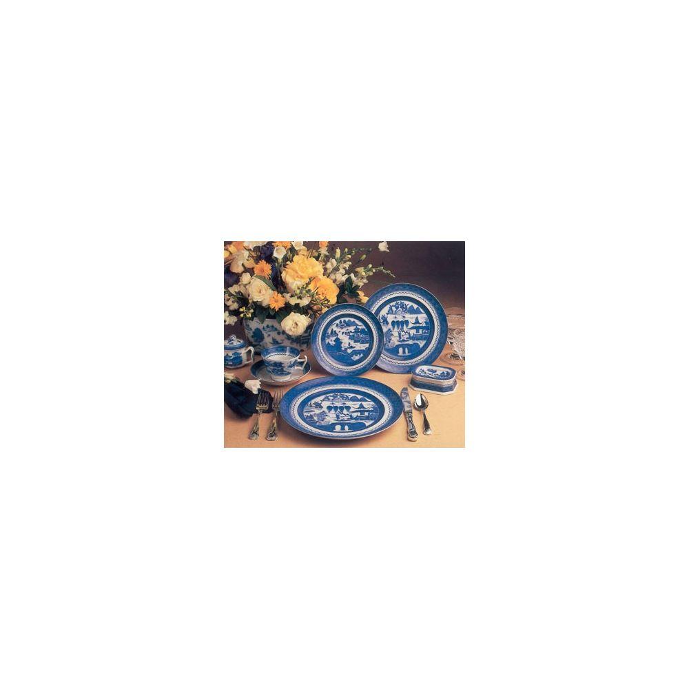 MOTTAHEDEH BLUE CANTON JUEGO 18 PLATOS